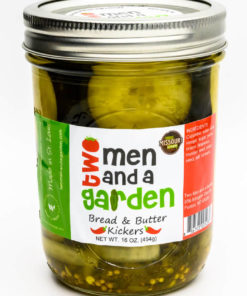 Two Men And A Garden-Bread and Butter Kicker Pickles