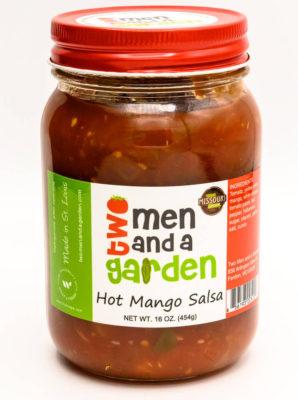 Two Men And A Garden-Hot Mango Salsa