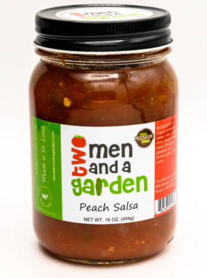 Two Men And A Garden-Peach Salsa