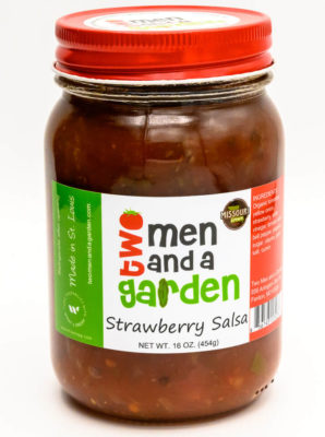 Two Men And A Garden-Strawberry Salsa