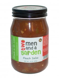 Two Men And A Garden Peach Salsa