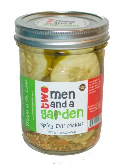 Two Men and A Garden Spicy Dill Pickles