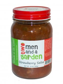 Two Men and A Garden Strawberry Salsa