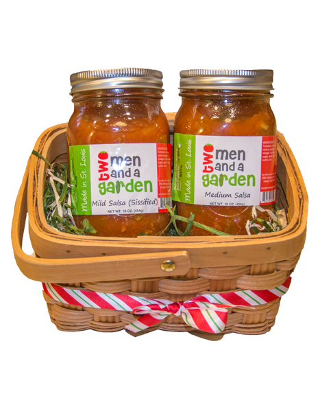 2 pack gift basket two men and a garden for Gardening gifts for men