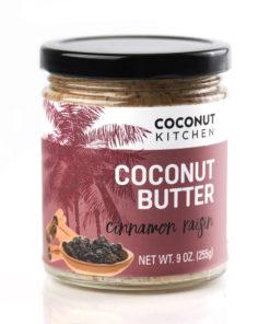 Cinnamon Raisin Coconut Butter Coconut Kitchen