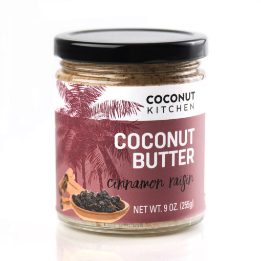 Cinnamon Raisin Coconut Butter Coconut Kitchen
