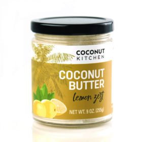 Lemon Zest Coconut Butter Coconut Kitchen