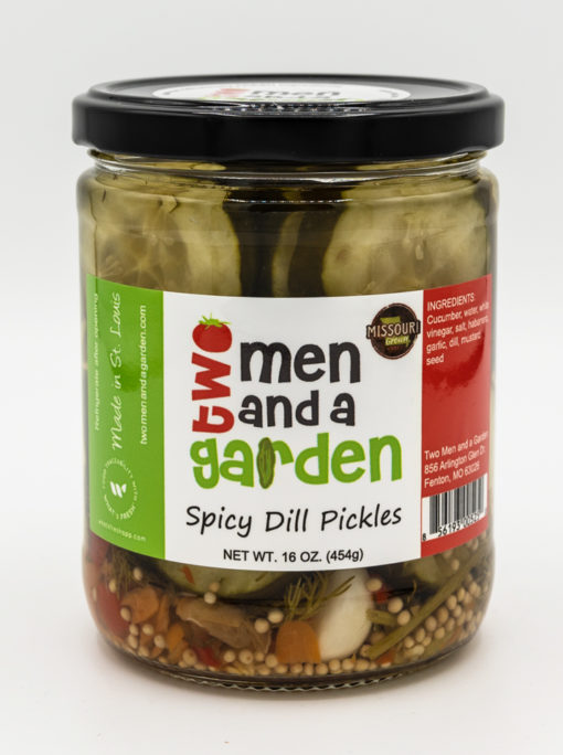 product image Two Men and A Garden Spicy Dill Pickles