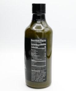 Sriracha Granada All Natural Hot Sauce Nutrition Label