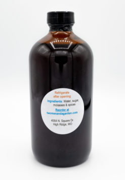 Schennys Not So Simple Syrup Jar Back