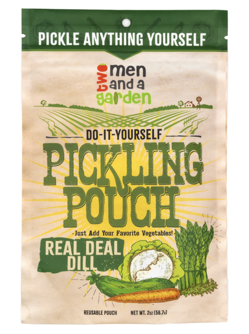 Two Men And A Garden Real Deal Dill Pickling Pouch