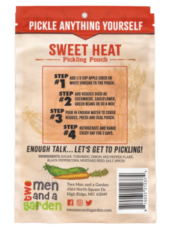 Two Men And A Garden Sweet Heat Pickling Pouch